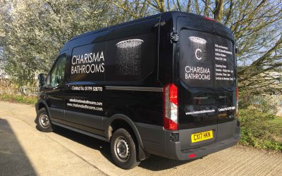 Our new van about town!